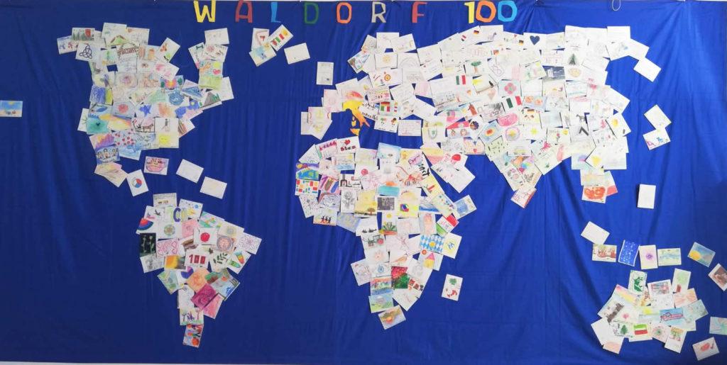 Waldorf 100 - progetto Cartoline