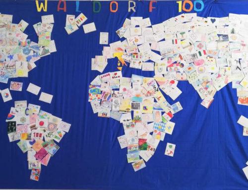 Il progetto Cartoline Waldorf 100