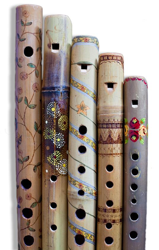costruire e suonare flauti di bambù